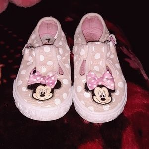 girls disney minnie mouse shoes size 7